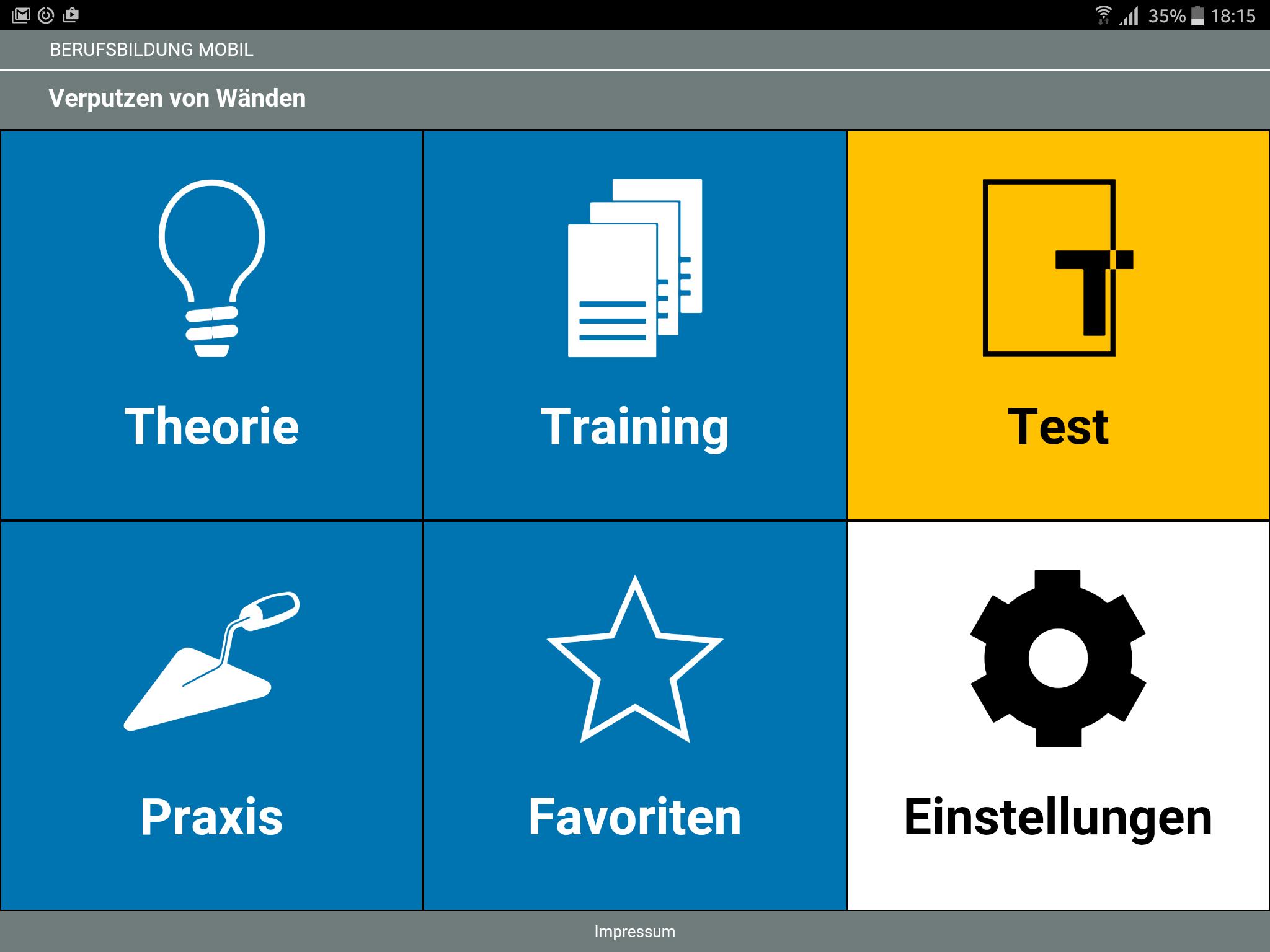 Lern-App Verputzen von Wänden - Komzet Netzwerk